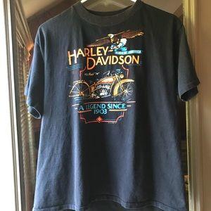 Vintage 1982 Harley-Davidson T-shirt